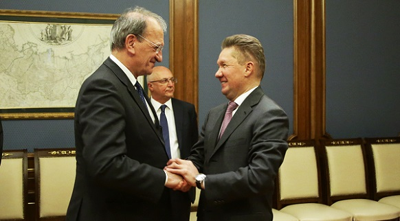 Gazprom and Edison discuss issues of gas supply