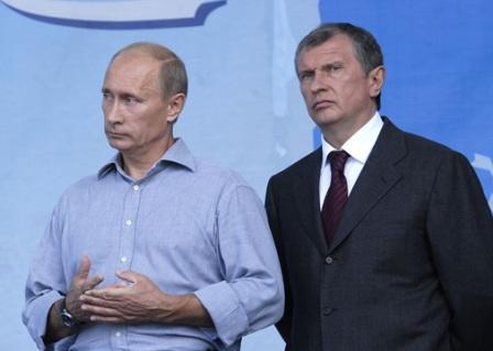 И.Сечин попросил В.Путина подключить завод Роснефти в Находке к магистральному нефтепроводу. Российские особенности...