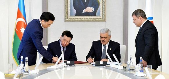 КазМунайГаз и SOCAR договорились о сотрудничестве в сфере ГРР