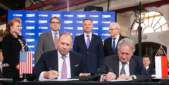 Польша подписала еще один долгосрочный контракт на поставку СПГ из США. Но не тот, что ждали