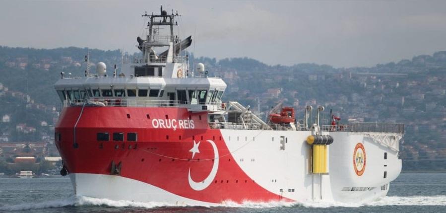 Провокация? Греция возмущена отправкой турецкого исследовательского судна Oruc Reis в спорный район Средиземного моря