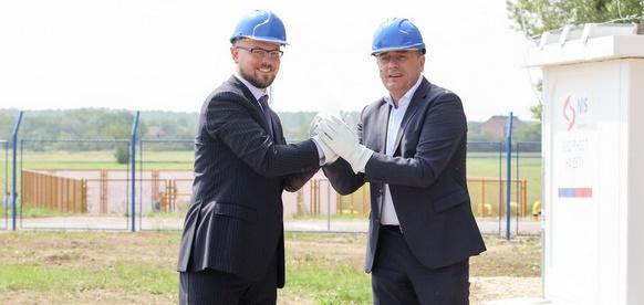 NIS запустила установку по производству компримированного природного газа на месторождении Острово в Сербии