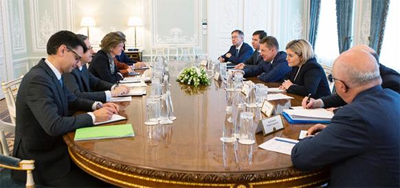 В свете поправок к газовой директиве ЕС. Газпром обсуждает с Францией ситуацию с Северным потоком-2