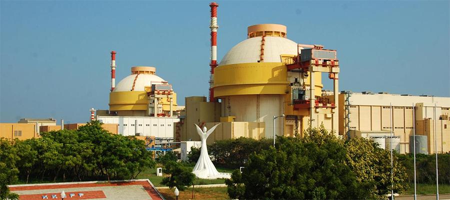 На площадку блока №3 АЭС Куданкулам поставили основное оборудование реакторной установки