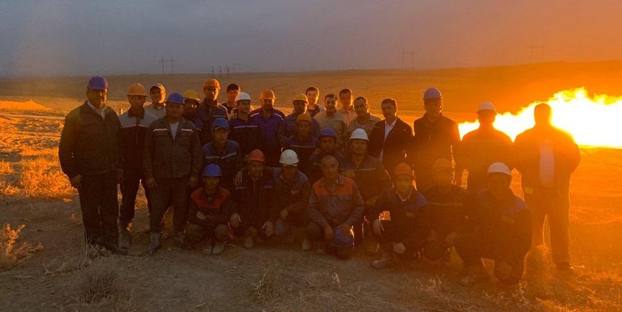 Узбекнефтегаз получил промышленный приток газа на месторождении Ермок