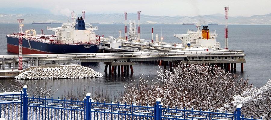 Экспорт нефти через порт Козьмино в 2019 г. увеличился более чем на 9%
