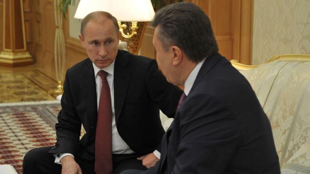 В.Янукович готов уступить В.Путину украинскую ГТС