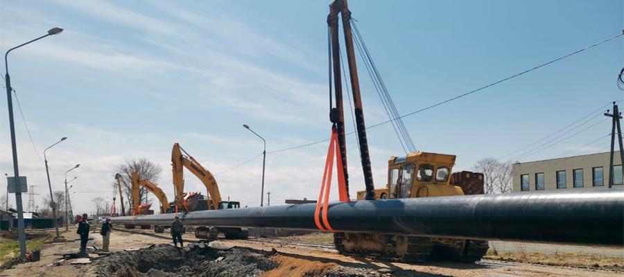 В Долинском районе Сахалинской области началось строительство еще 2 межпоселковых газопроводов