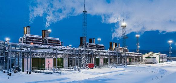 На Ярактинском месторождении ИНК введен в строй энергоцентр мощностью 72 МВт