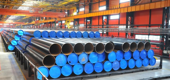 First pipes for Nord Stream 2 arrive in german Mukran