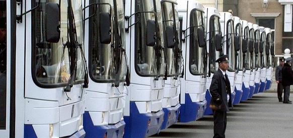 Г Санкт-Петербург закупит автобусы на газе почти на 1 млрд руб