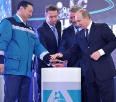В.Путин 15 октября 2013 г провел совещание по вопросам нефтехимии в Тобольске и открыл завод Тобольск-полимер СИБУРа