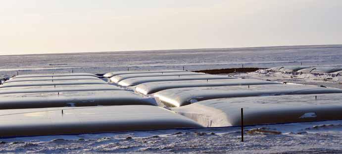 Прочнее стали Эластичные резервуары морозов не боятся