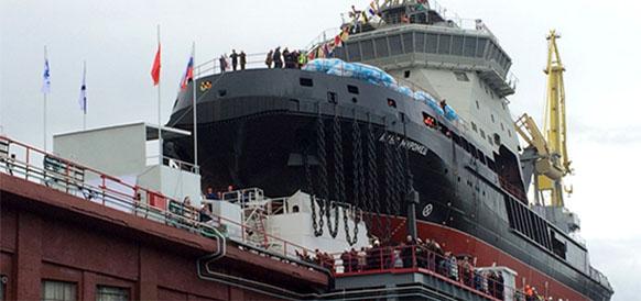 Военный ледокол Илья Муромец войдет в состав Северного флота ВМФ России осенью 2017 г
