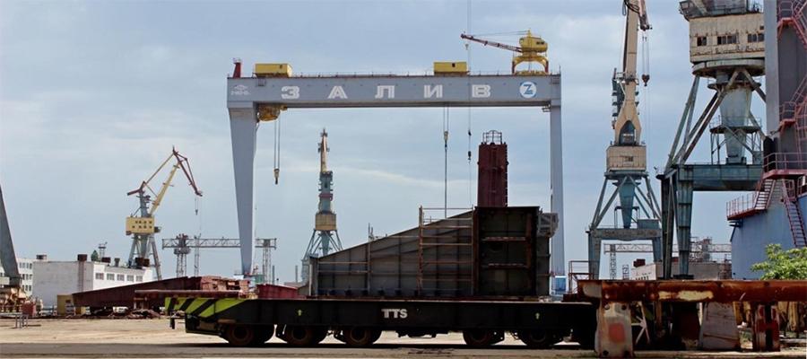 Плавучий док для атомных ледоколов проекта 22220 может быть построен на керченском Заливе
