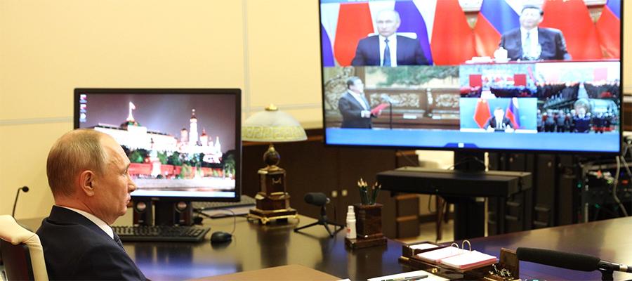 Сразу 4 энергоблока. В. Путин и С. Цзиньпин дали старт работам по расширению Тяньваньской АЭС и АЭС Сюйдапу в Китае