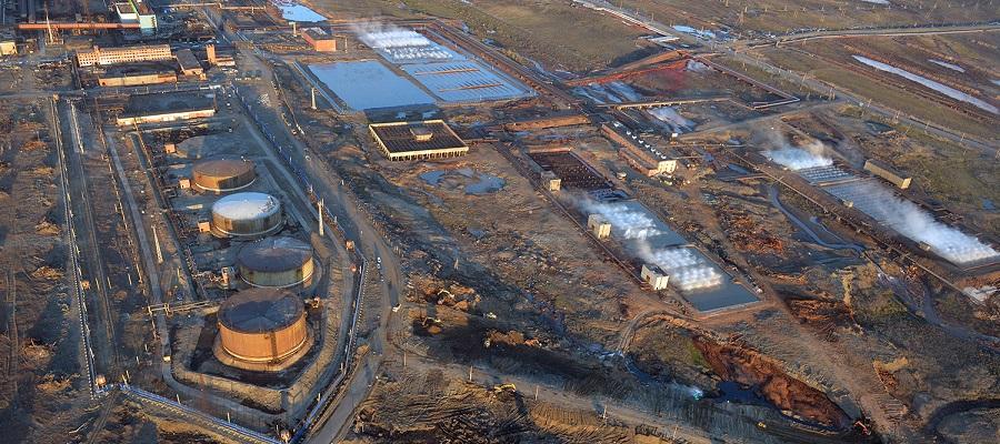 На ТЭЦ-3 в Норильске на месте старого аварийного резервуара возведут новый