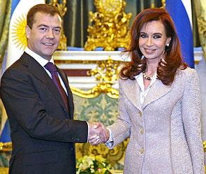 Дмитрий Медведев наговорился в Аргентине