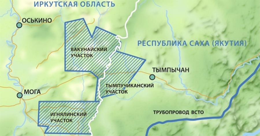 Чонский проект. Газпром нефть пробурила 2-ю горизонтальную скважину на Игнялинском месторождении