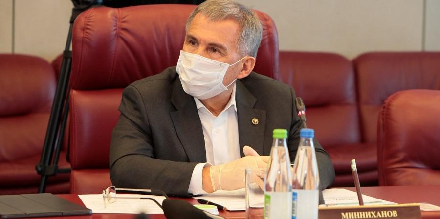 Р. Минниханов оценил действия Татнефти по предупреждению распространения коронавируса