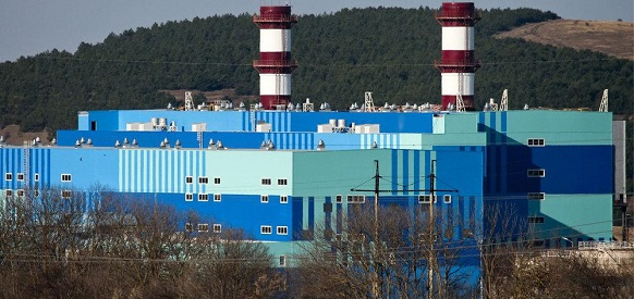 На Таврической ТЭС в Крыму завершились испытания 1-го энергоблока