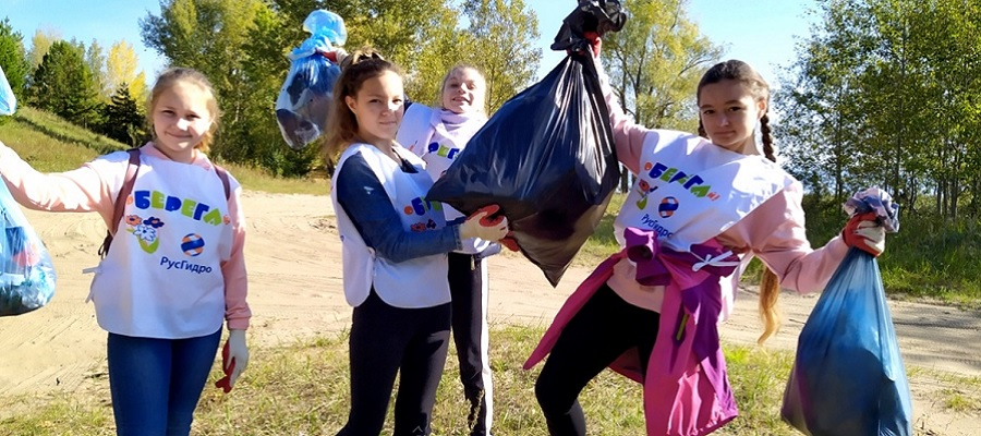 Школьники Пермского края поучаствовали в экологической акции «оБЕРЕГАй»
