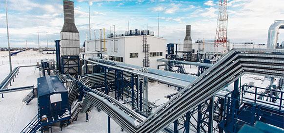 Газпром нефть начала пусконаладочные работы на установке комплексной подготовки газа Новопортовского месторождения
