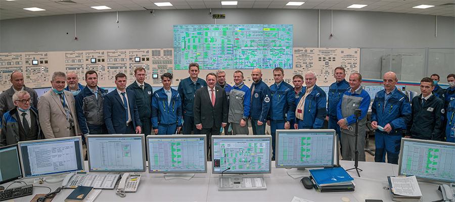 На 2-м энергоблоке Ленинградской АЭС-2 впервые зафиксирована ядерная реакция