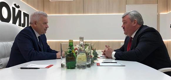ЛУКОЙЛ обновил договоренности о соцпартнерстве с российскими регионами