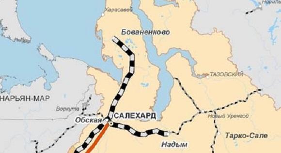 Локомотивы на железной дороге Газпрома на Ямале «Обская — Бованенково» будут использовать СПГ