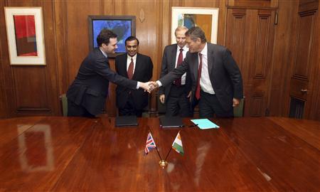 BP и Reliance планируют инвестировать в разработку газового блока в Индии