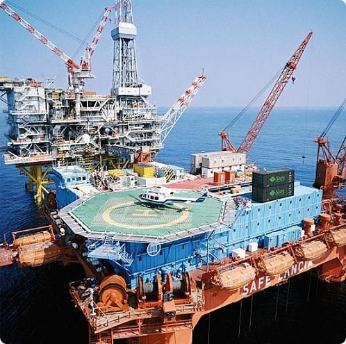 Контроль и управление морскими нефтегазовыми сооружениями