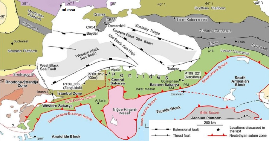 Tectonic-map Black-Sea-region-showing-eastern-Sakarya 2020.jpg
