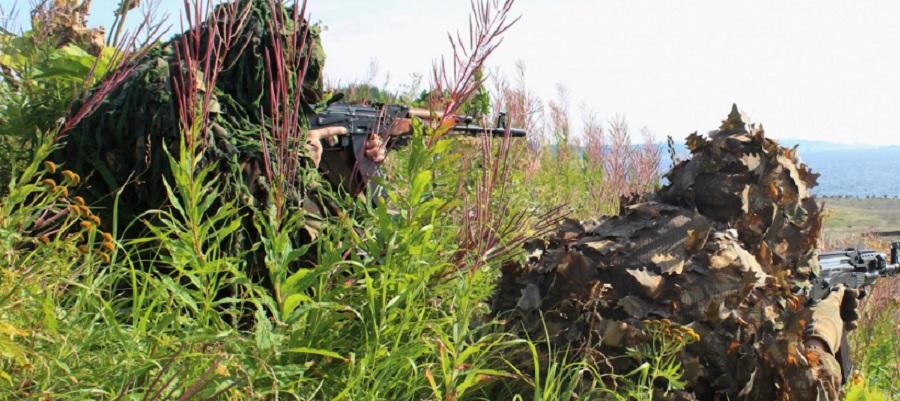 Морские пехотинцы на Таймыре