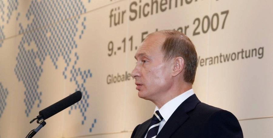 В. Путин на конференции в г. Мюнхене