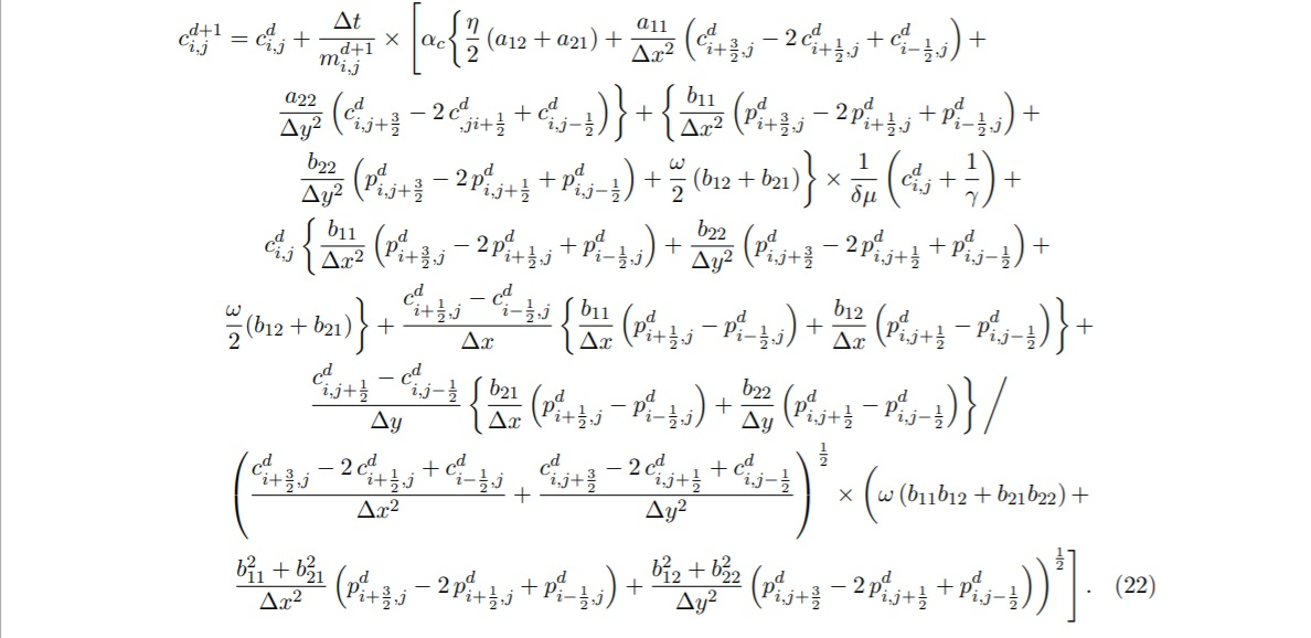 Finally the finite difference analogue to equation 2019.jpg