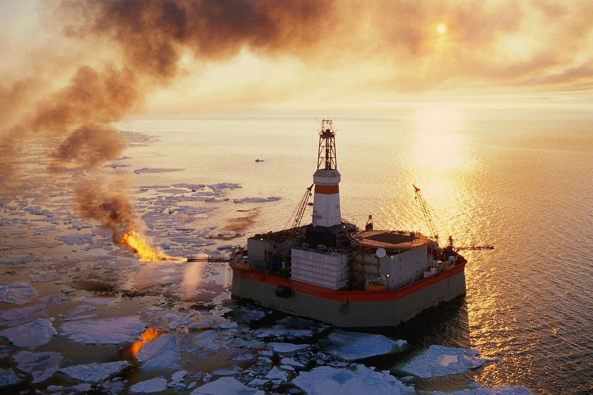 Получение арктического дизельного топлива из попутного нефтяного газа