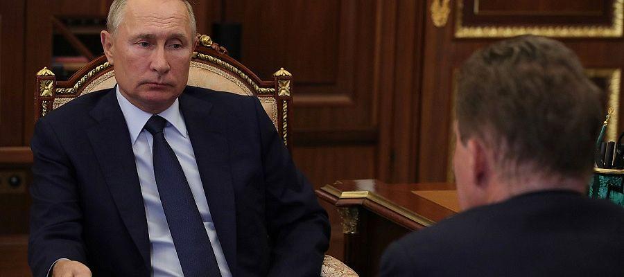 В. Путин провел встречу с А. Миллером. Ни слова о Северном потоке-2 -  Новости ТЭК на Neftegaz.RU