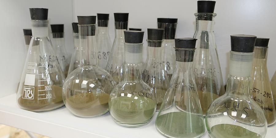 Определение гранулометрического состава продукции  АО «СКТБ «Катализатор»