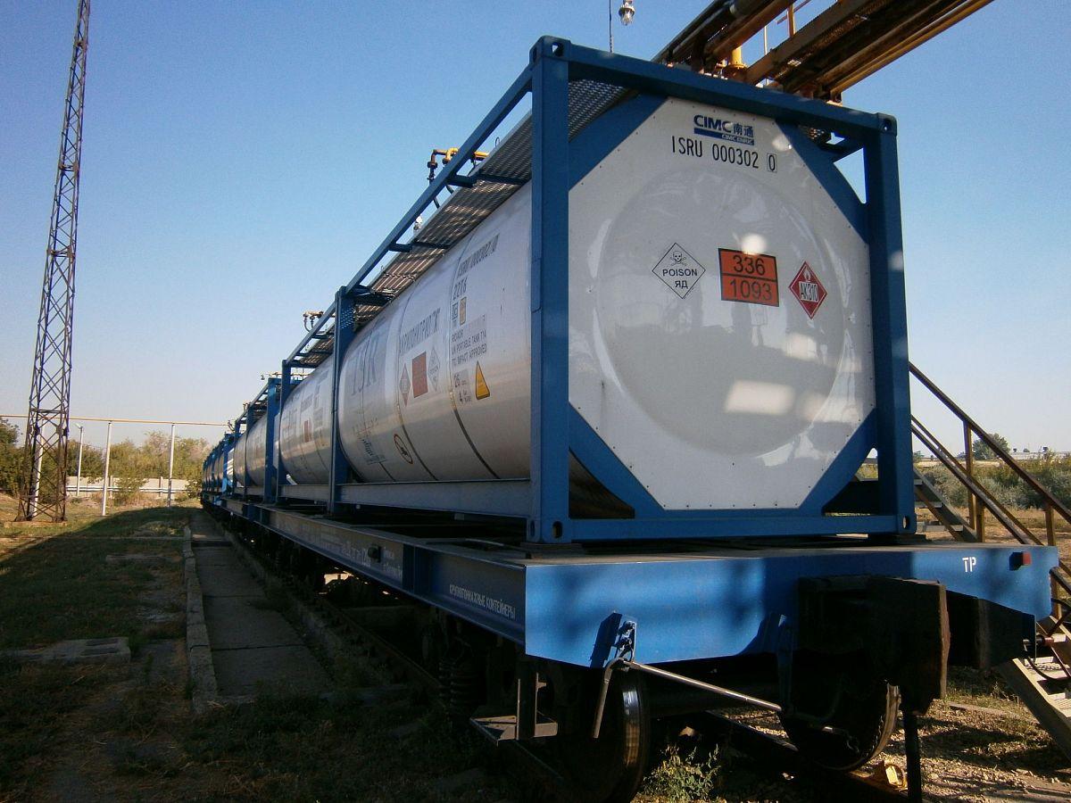 Особенности транспортировки нефтехимических грузов
