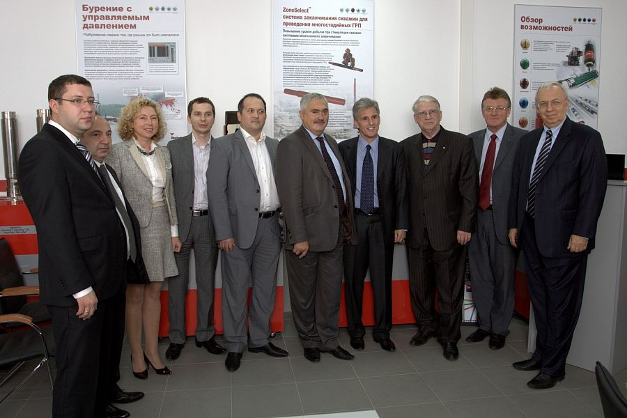 Weatherford Classroom Opened In Russian State University of Oil and Gas n. a. I. M. Gubkin