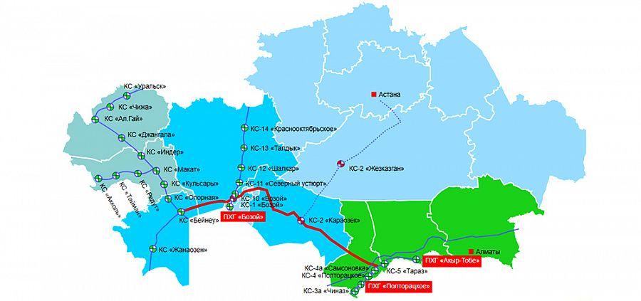 Планы в силе. Казахстан к октябрю 2018 г поставит Китаю 5 млрд м3 газа