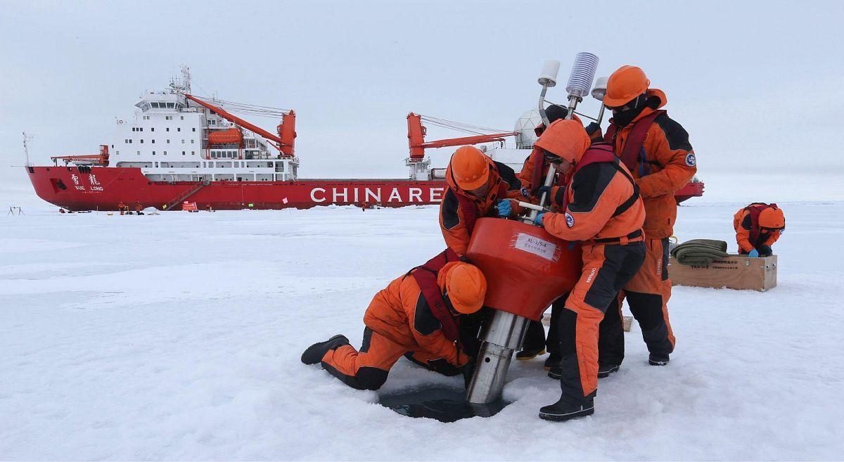 Комплексные морские исследования в арктическом регионе