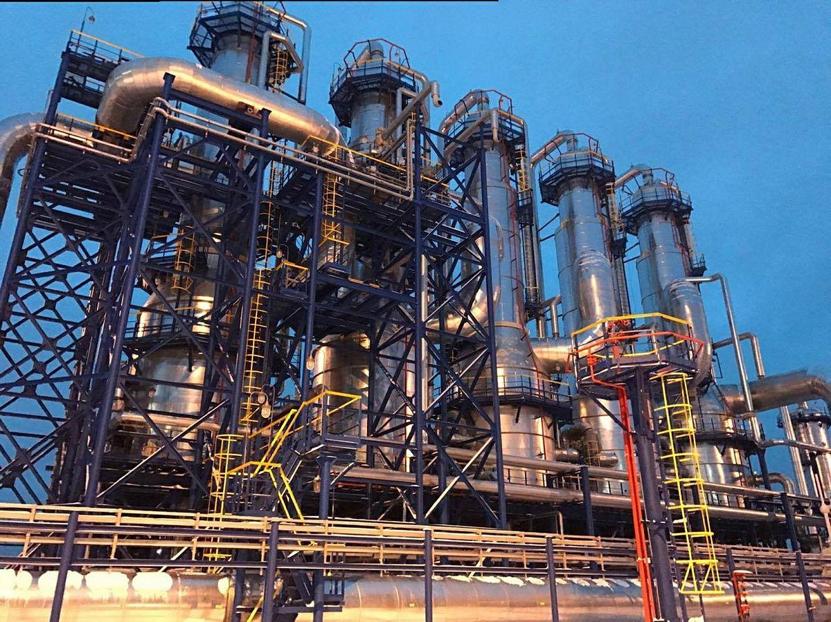Переработка тяжелой нефти. Ярегского месторождения с использованием внешних полей