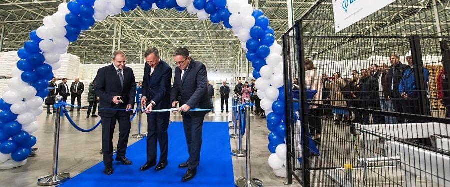 В индустриальном парке «Ворсино» открыли логистический полимерный хаб для удобства клиентов СИБУРа из различных отраслей