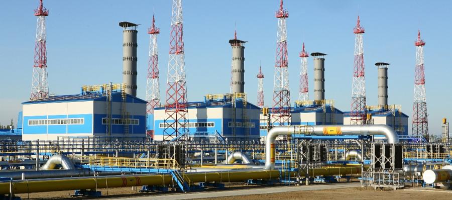 На Центральной ДКС Чаяндинского месторождения запущен в работу 1-й газоперекачивающий агрегат