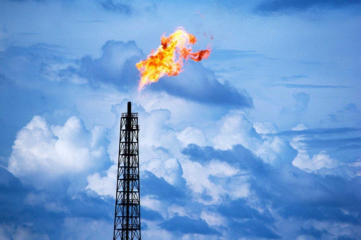 Моделирование теплофизических процессов при утилизации попутного нефтяного газа