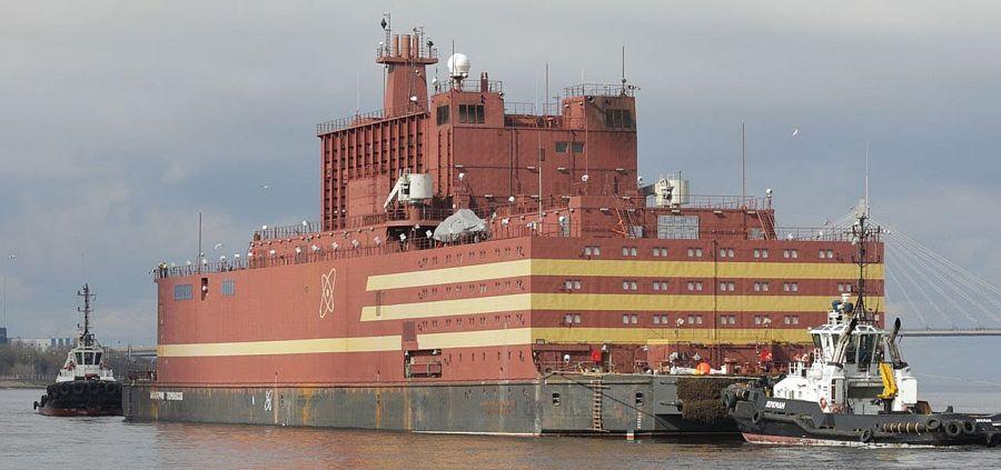 Запущена 1-ая реакторная установка плавучего энергоблока «Академик Ломоносов»
