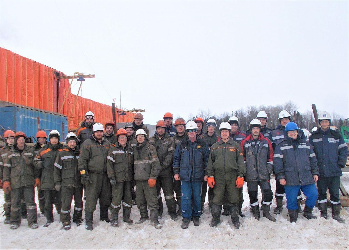 Новый рекорд по скорости бурения скважин установили сотрудники Нефтеюганского филиала ССК