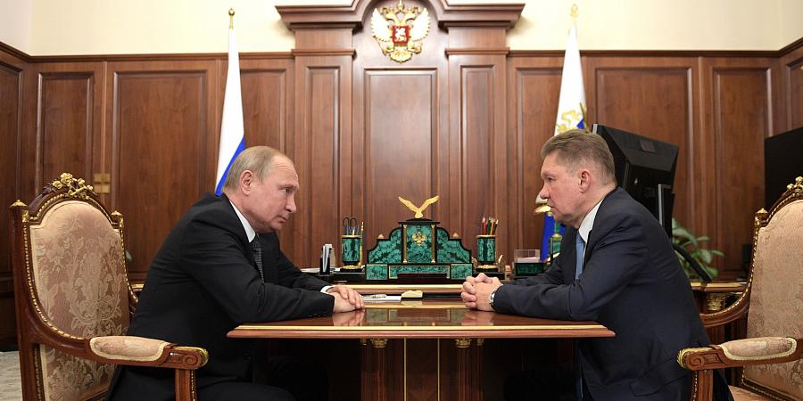 После ВЭФ-2019. В. Путин поручил главе Газпрома изучить вопрос поставок газа в Китай через Монголию